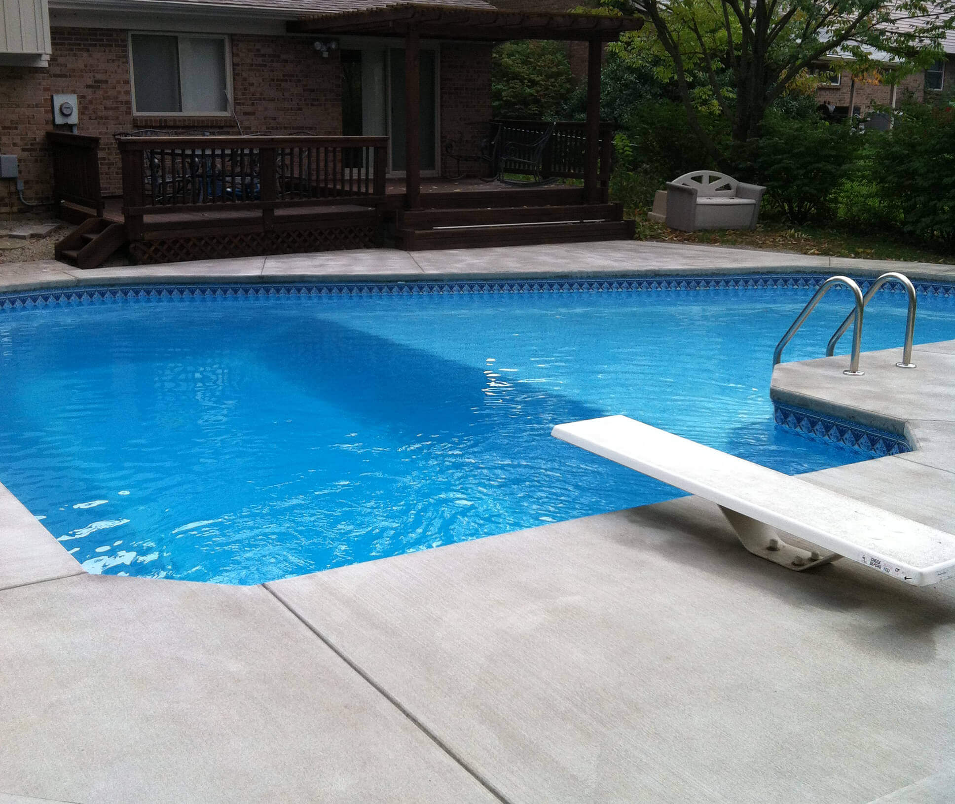 Liner installation si pool care for Pool liner installation